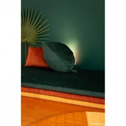 Coussin Akamba velvet 45x30 cm - Wild brown