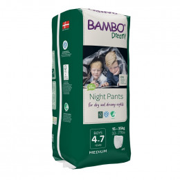 10 culottes de nuit Bambo Dreamy - 35 à 50 kg - Boys