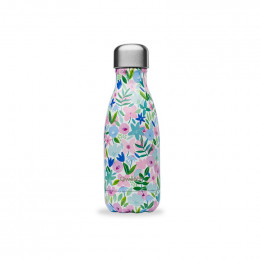 Gourde bouteille nomade isotherme - 260 ml - Flora bleu