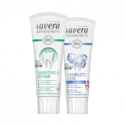 Duo de dentifrices Bio - Lavera