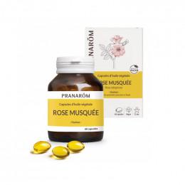 Capsules d'huile végétale - Rose Musquée - 60 capsules