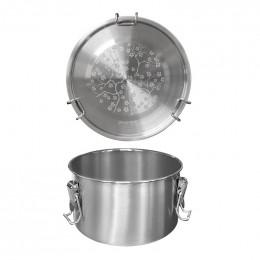 Lunch box en inox  - 1100 ml - Drummy Cerisier