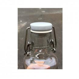 3 joints pour bouteille en verre Soulbottles - Blanc, turqoise, lilas