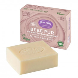 Savon Bio - Bébé pur - 80 g