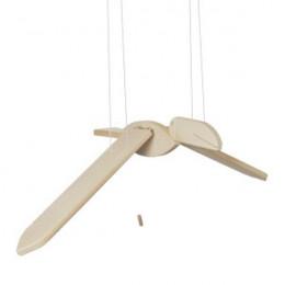 Toucan volant en bois naturel - dès la naissance