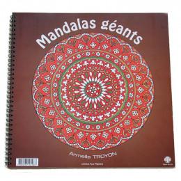 """Cahier 18 Mandalas """" Géants"""" - à partir de 5 ans"""