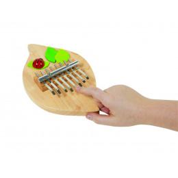 """Piano Kalimba en bois """"coccinelle"""" - à partir de 5 ans"""