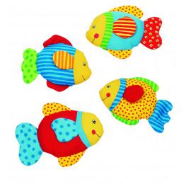 """Mini peluche """"poisson"""" en coton - à partir de 3 mois"""