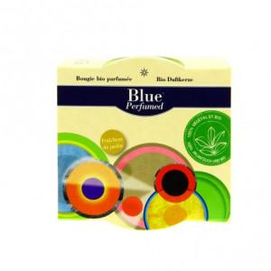 Blue perfumed bougies